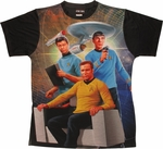Star Trek Space Trio Sublimated T-Shirt