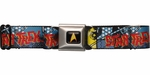 Star Trek Spock Cartoon Comic Seatbelt Mesh Belt