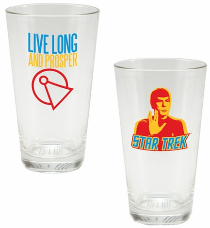 Star Trek Spock Glass