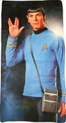 Star Trek Spock Salute Sublimated Beach Towel