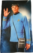 Star Trek Spock Salute Sublimated Fleece Blanket