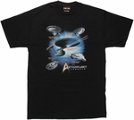 Star Trek Starfleet Vessels T Shirt