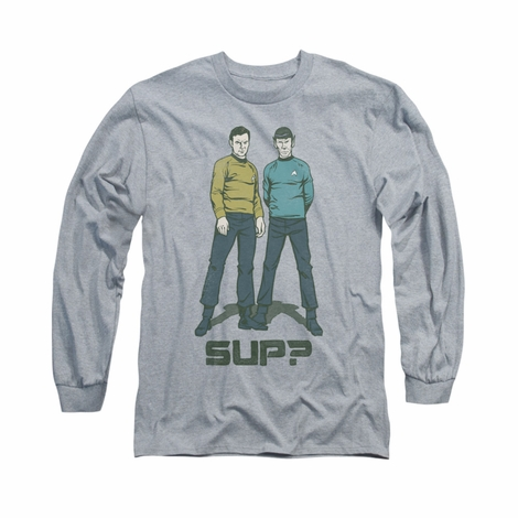 Star Trek Sup Long Sleeve T Shirt