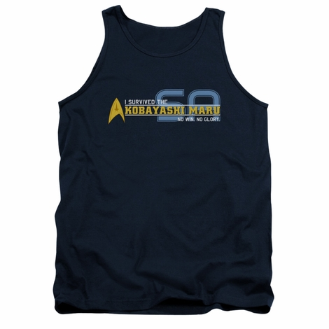 Star Trek Survived Kobayashi Tank Top
