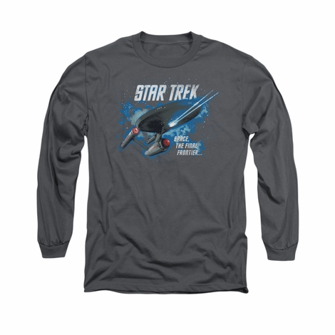 Star Trek The Final Frontier Long Sleeve T Shirt