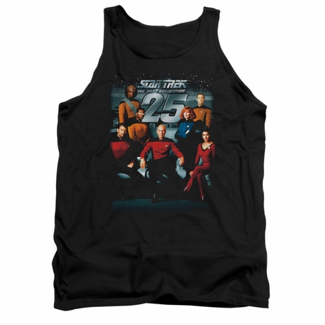 Star Trek TNG 25 Cast Tank Top