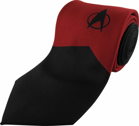 Star Trek TNG Command Mighty Fine Tie