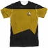 Star Trek TNG Engineering Sublimated T Shirt