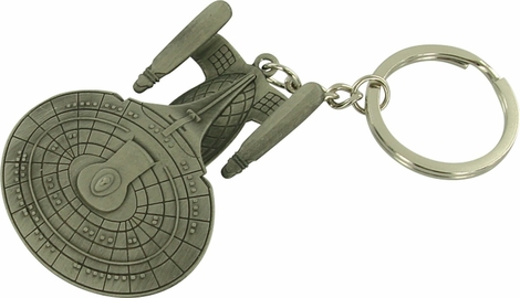 Star Trek TNG Enterprise D Metal Keychain