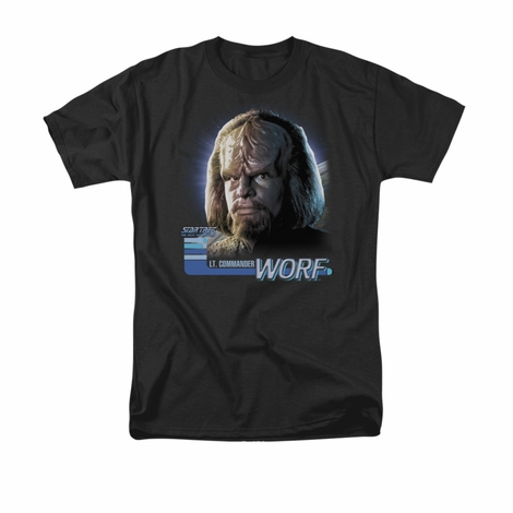 Star Trek TNG Worf T Shirt
