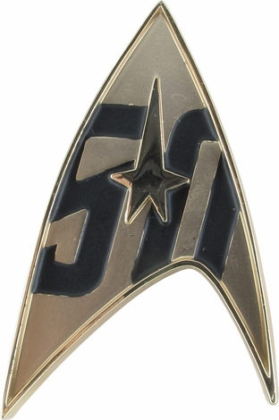 Star Trek TOS 50th Anniversary Magnetic Pin