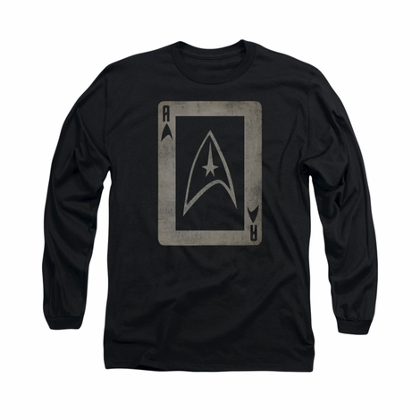 Star Trek TOS Ace Long Sleeve T Shirt