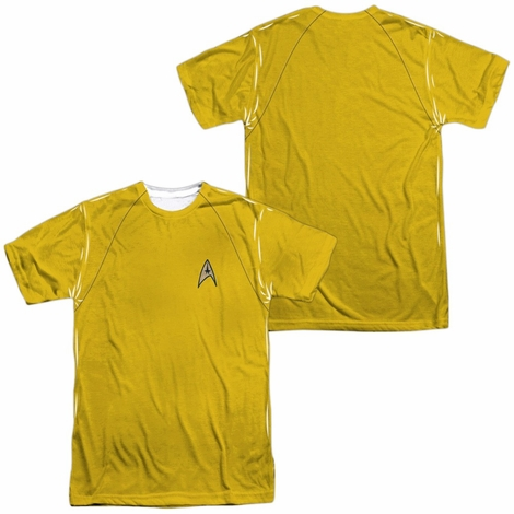 Star Trek TOS Command FB Sublimated T Shirt