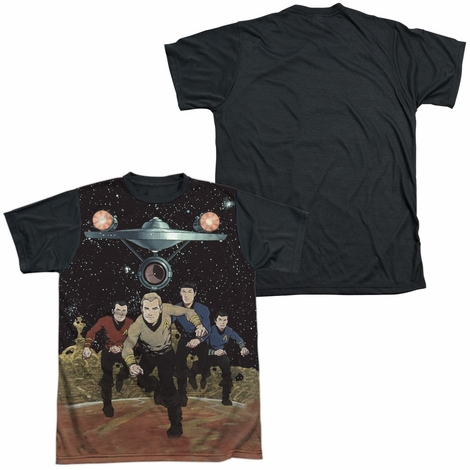 Star Trek TOS Running BB Sublimated T Shirt