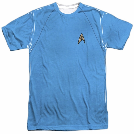 Star Trek TOS Science Sublimated T Shirt