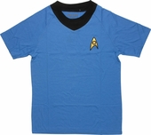 Star Trek TOS Sciences Deluxe T Shirt