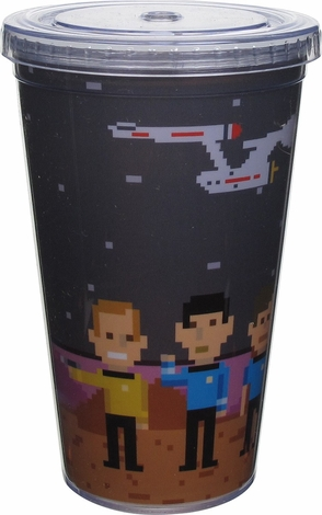 Star Trek Trexel Characters Travel Cup