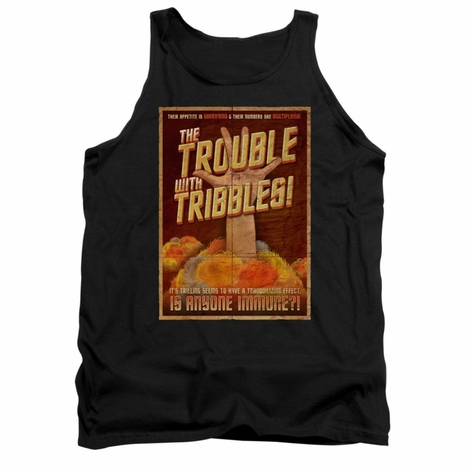 Star Trek Tribbles Poster Tank Top
