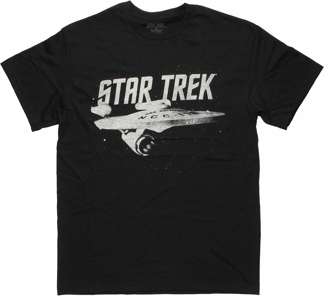 Star Trek USS Enterprise T Shirt
