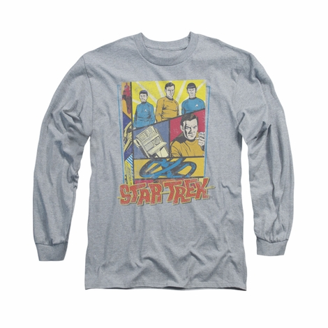 Star Trek Vintage Collage Long Sleeve T Shirt