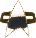 Star Trek Voyager Combadge Magnetic Pin
