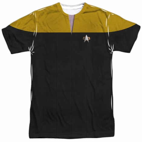 Star Trek Voyager Engineer Sublimated T Shirt
