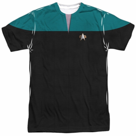 Star Trek Voyager Science Sublimated T Shirt