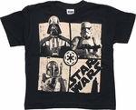 Star Wars 3 Company UV Grid Juvenile T Shirt