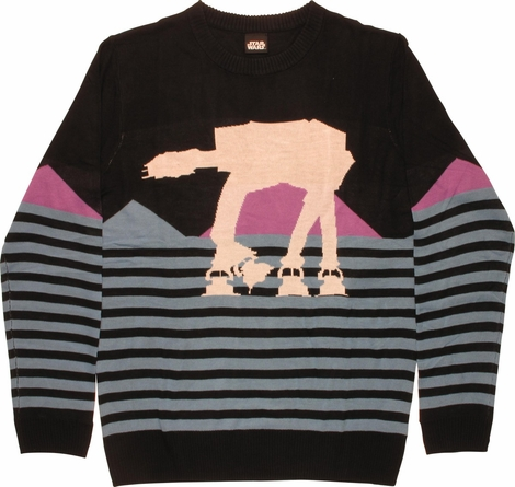 Star Wars AT-AT Half Striped Mighty Fine Sweater