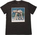Star Wars AT-AT Vader Drive T Shirt Sheer