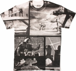 Star Wars Black and White Collage Front T-Shirt