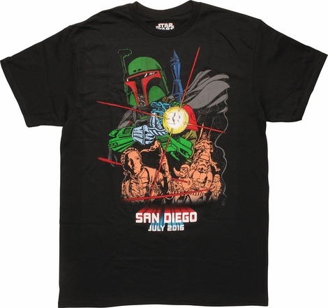 Star Wars Boba Fett SDCC 2016 T-Shirt