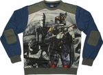 Star Wars Bounty Hunters Sublimated Overlay Sweatshirt