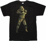 Star Wars Camo Trooper T Shirt