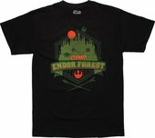 Star Wars Camp Endor Crest T Shirt
