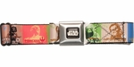 Star Wars Character Alliances Squares Seatbelt Mesh Belt