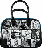 Star Wars Checker Blue Handbag