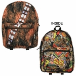 Star Wars Chewbacca Comic Reversible Backpack