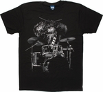 Star Wars Chewbacca Drums T Shirt Sheer