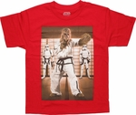 Star Wars Chewbacca Karate Youth T Shirt