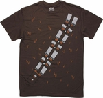 Star Wars Chewbacca Uniform T Shirt