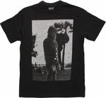 Star Wars Chewy Skateboard Black T Shirt
