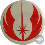 Star Wars Clone Wars Rebel Logo Button