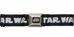 Star Wars Clone Wars Troopers Black Seatbelt Mesh Belt