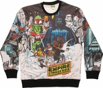 Star Wars Comic Hoth Sublimated Sweatshirt