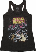 Star Wars Comic Tank Top Baby Tee