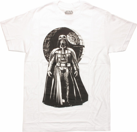 Star Wars Darth Vader Death Star T-Shirt Sheer