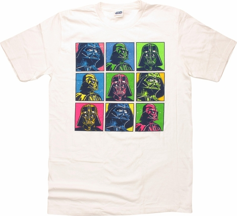 Star Wars Darth Vader Nine Squares T-Shirt
