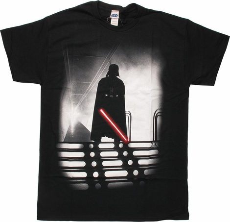 Star Wars Darth Vader Saber Drawn T-Shirt
