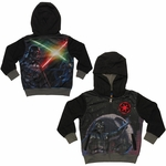 Star Wars Darth Vader Sublimated Overlay Toddler Hoodie